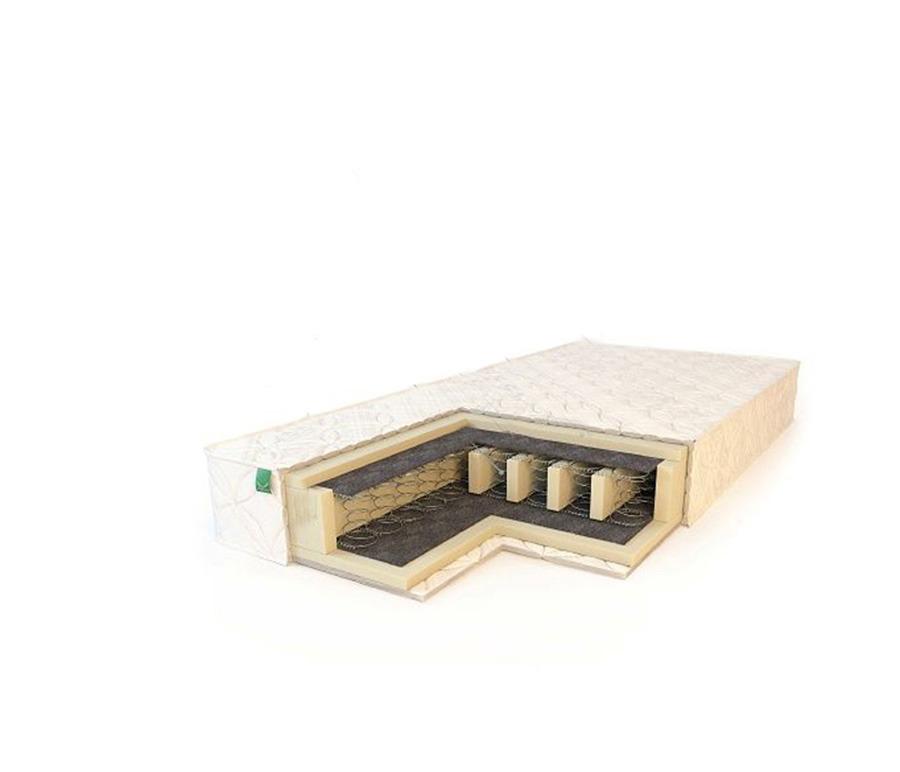 Матрас Комфорт усиленный 1600*2000Спальня<br>Матрас  Комфорт усиленный  изготовлен на основе зависимого пружинного блока Бонель (Bonnell). Мягкие пенополиуретановые плиты отделены от пружинного блока прослойкой войлока. Наличие войлоковой прослойки существенно увеличивает срок эксплуатации матраса. Борта матраса для большей жесткости усилены пенополиуретаном. Отличается наличием специальных продольных пенополиуретановых усилителей. Благодаря действию которых матрас способен выдерживать вес до 110 кг на односпальное место.&#13;Чехол матраса   поликотон (бязь).&#13;Высота матраса: 18 см.&#13;Наполнение: пенополиуретан, войлок, пружинный блок Боннель (с рамкой) усиленный.&#13;Максимальная нагрузка: до 110 кг на одно спальное место.&#13;Жесткость: medium&#13;]]&gt;<br><br>Длина мм: 2000<br>Высота мм: 180<br>Глубина мм: 1600