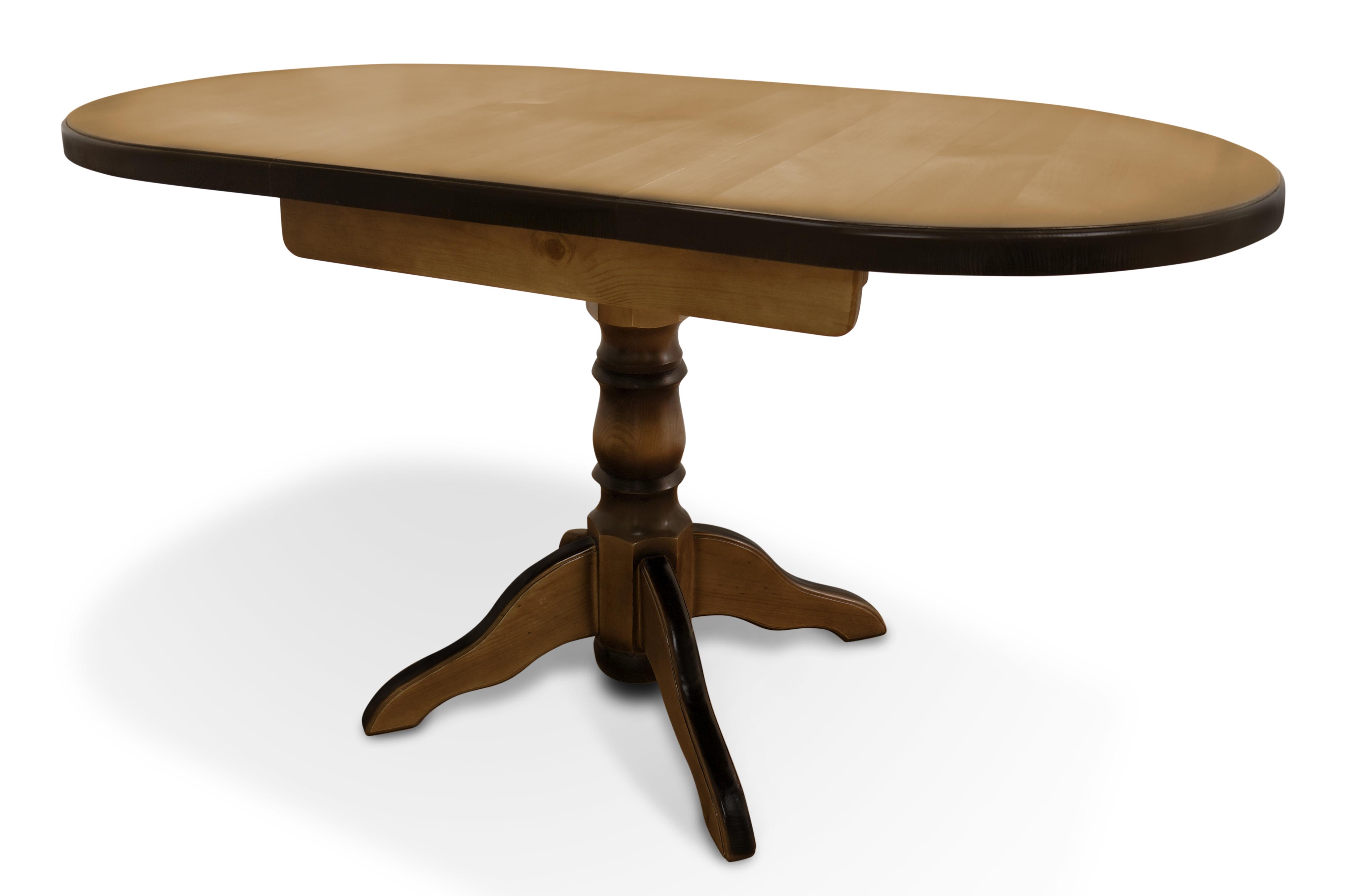 Стол из массива дерева Стенфорд-1 стол laredoute обеденный круглый из массива сосны authentic style 8 персоны бежевый