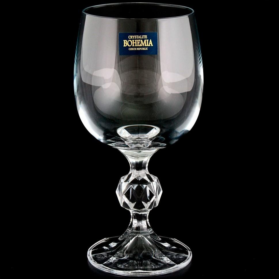 Набор бокалов для вина Crystalite Bohemia Claudia 190 мл 6 шт
