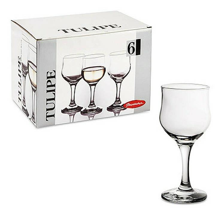 Набор бокалов для белого вина Pasabahce Tulipe 200 мл 6 шт pasabahce набор бокалов tulipe 200 мл 6 шт прозрачный