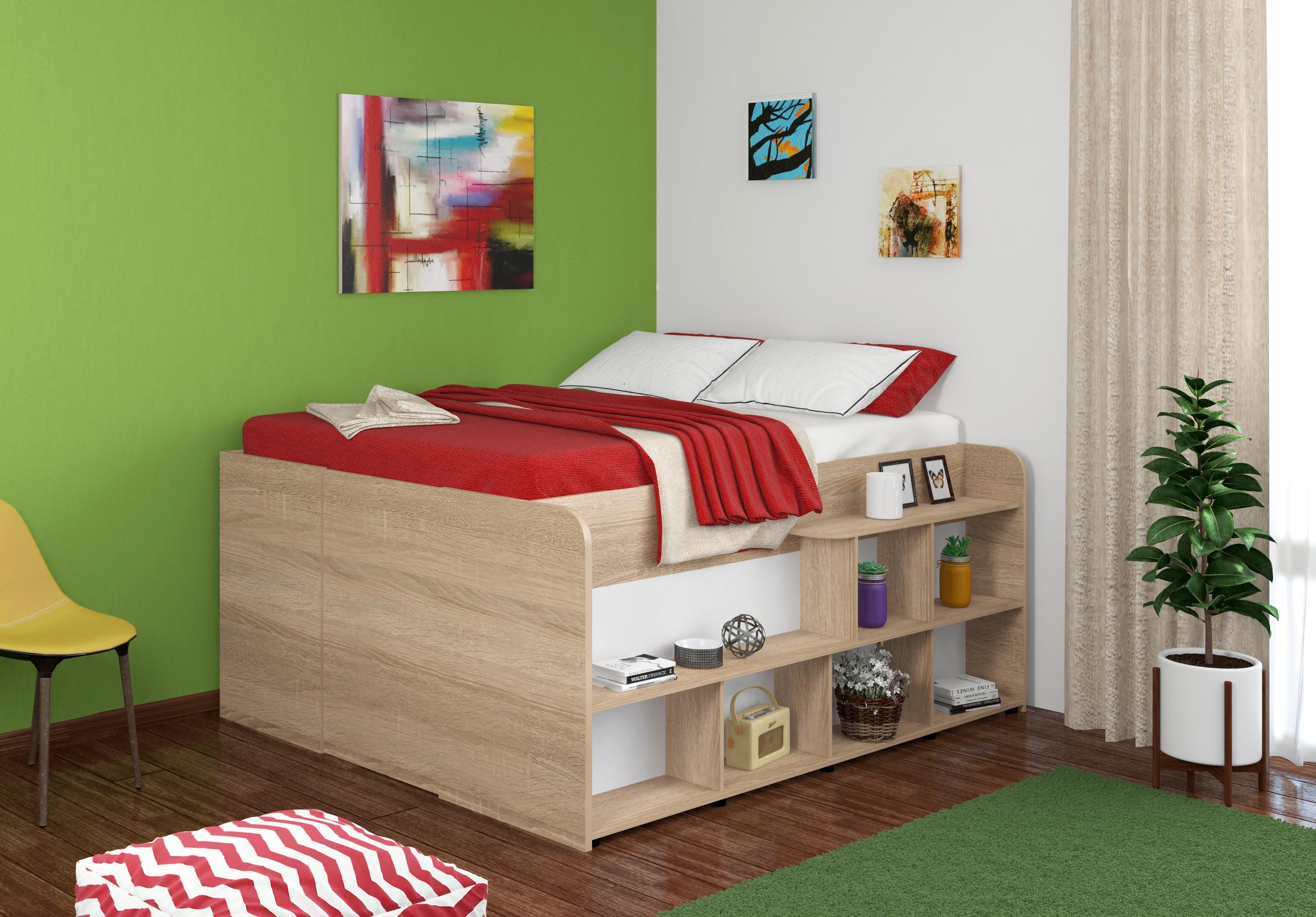 Кровать Twist UP/PКровати одноярусные<br><br><br>Длина мм: 1640<br>Высота мм: 885<br>Глубина мм: 1940