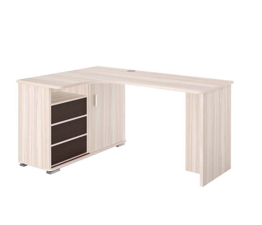 Стол компьютерный без надстройки СР-145СКомпьютерные столы<br><br><br>Длина мм: 1400<br>Высота мм: 745<br>Глубина мм: 1160