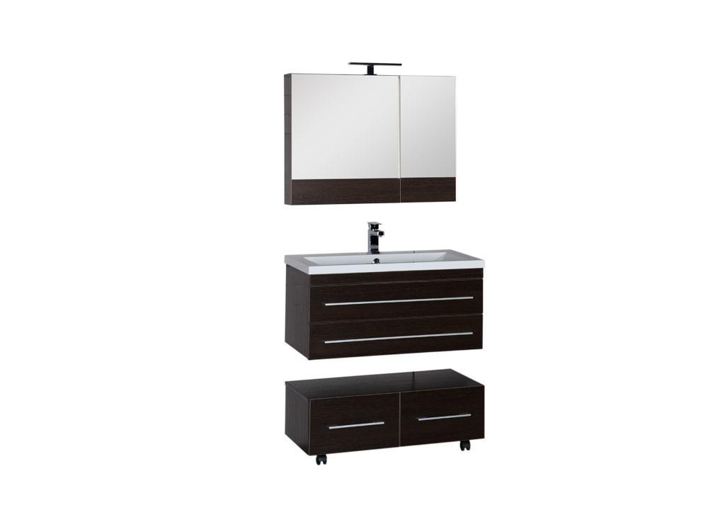 Комплект мебели Aquanet Нота 90 венге (камерино)Комплекты мебели для ванной<br><br><br>Длина мм: 0<br>Высота мм: 0<br>Глубина мм: 0<br>Цвет: Венге (камерино)