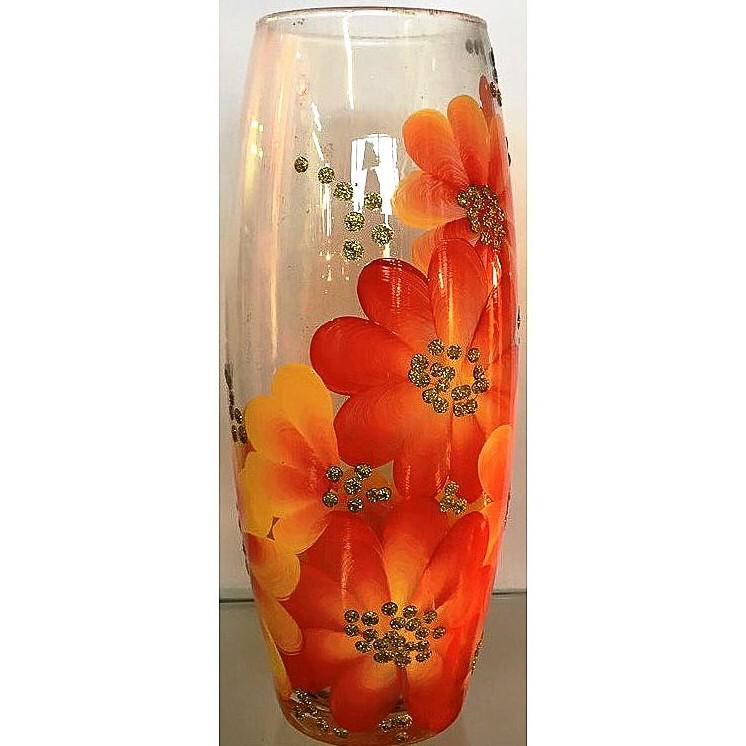 Фото - Ваза для цветов декорированная 25 см 7736/250/77-352.1 ваза для цветов декорированная 25 см 7736 250 77 302