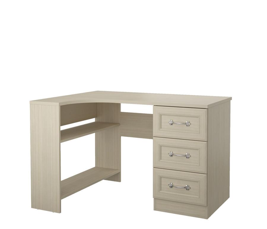 Дженни СТЛ.127.10 Стол угловой левый 3- ящикамиДетские парты, столы и стулья<br><br><br>Длина мм: 1200<br>Высота мм: 770<br>Глубина мм: 896