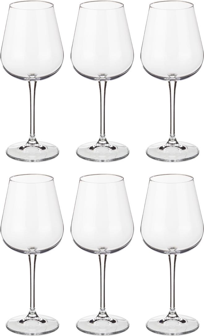 Фото - Набор бокалов для вина amundsen/ardea 450 мл набор бокалов первый мебельный набор бокалов для вина crystalite bohemia ardea amundsen 450мл 6 шт