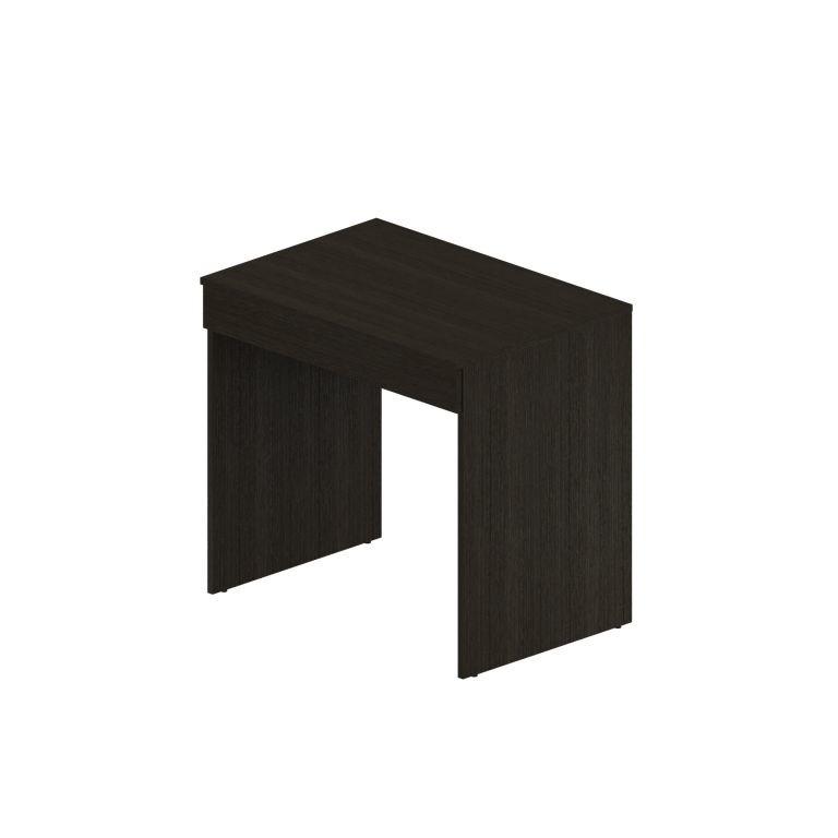 Письменный стол 80 см Рино 202Письменные столы<br><br><br>Длина мм: 800<br>Высота мм: 750<br>Глубина мм: 550