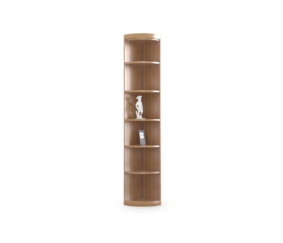 Сити СБ-216/1 Стеллаж торцевойСтеллажи<br>Классический угловой стеллаж.<br><br>Длина мм: 345<br>Высота мм: 2218<br>Глубина мм: 345