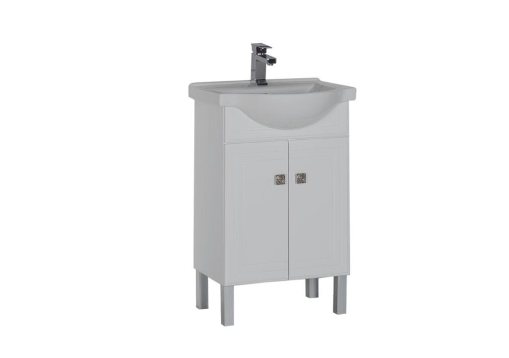 Тумба Aquanet Стайл 55 белыйТумбы с раковиной для ванны<br><br><br>Длина мм: 0<br>Высота мм: 0<br>Глубина мм: 0<br>Цвет: Белый