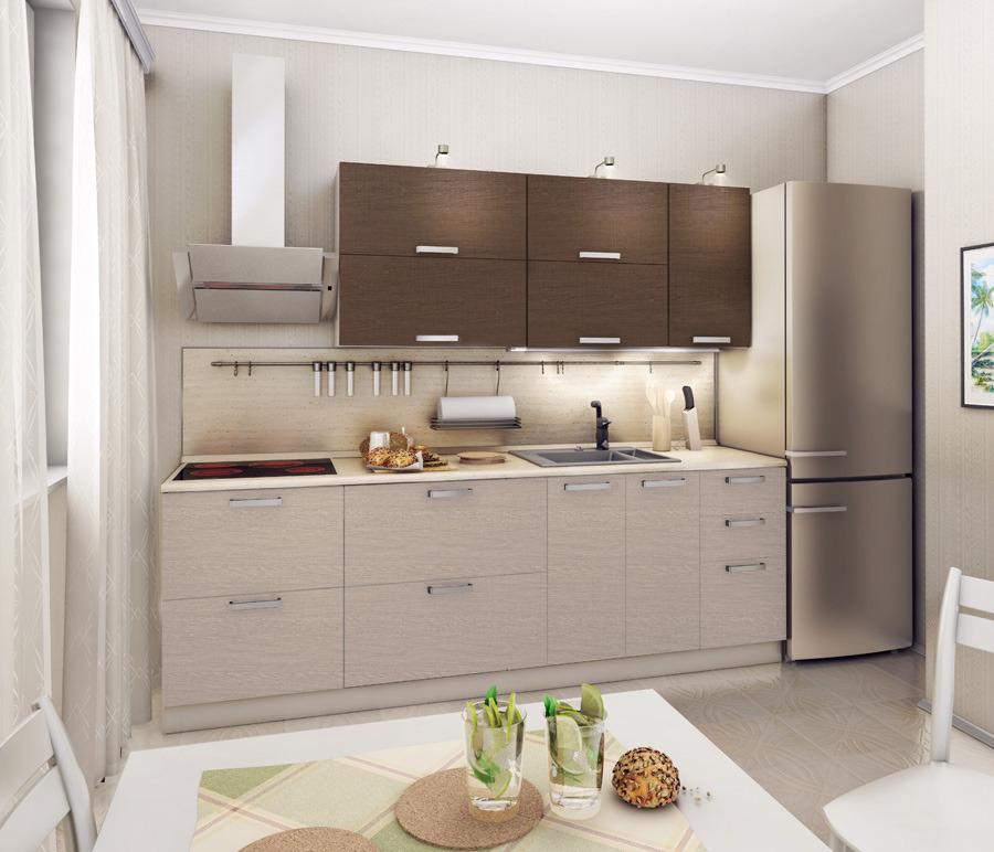 Регина Кухонный гарнитур Экспозиция 19Кухонные гарнитуры<br>Кухонный гарнитур  Регина  представляет собой эффективную и вместительную систему хранения.<br><br>Длина мм: 2400<br>Высота мм: 0<br>Глубина мм: 0