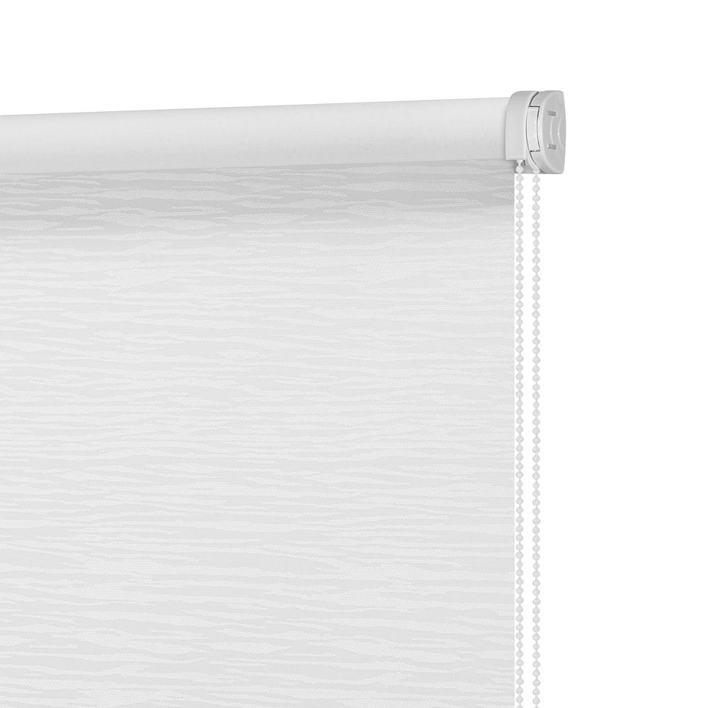 Штора рулонная Блэкаут Кортеза Белый 140x175 Столплит А0000011558