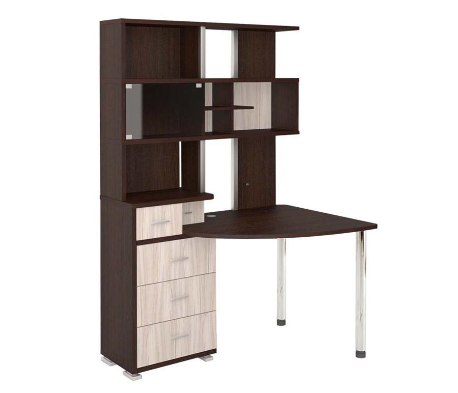 Стол компьютерный с надстройкой СР-320Компьютерные столы<br><br><br>Длина мм: 1345<br>Высота мм: 1955<br>Глубина мм: 890