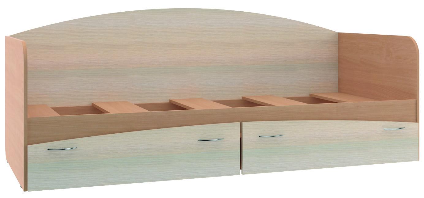 Кровать для детской КР-1Кровати одноярусные<br><br><br>Длина мм: 2030<br>Высота мм: 800<br>Глубина мм: 850