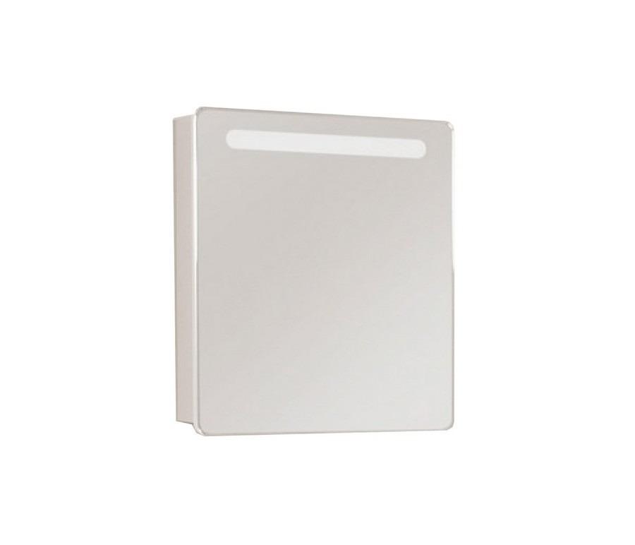 Зеркало-шкаф Акватон Америна 60 L левый с подсветкой для ванной комнатыЗеркало- шкаф для ванной<br><br><br>Длина мм: 0<br>Высота мм: 0<br>Глубина мм: 0<br>Цвет: Белый