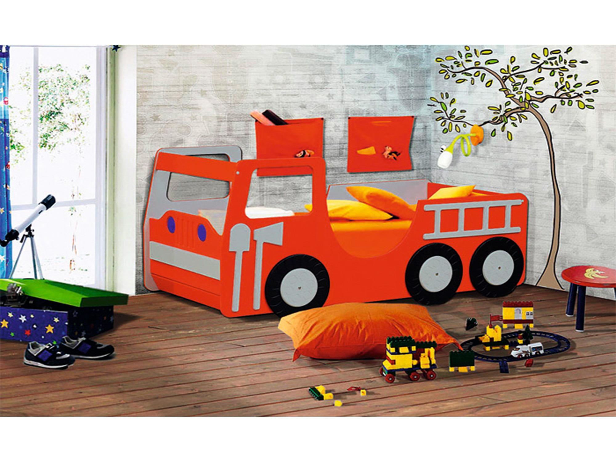 Кровать ПожарнаяДетские кровати<br><br><br>Длина мм: 840<br>Высота мм: 805<br>Глубина мм: 1810