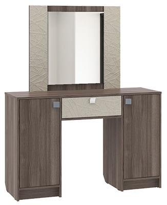 Столик туалетный СТ-4Туалетные столики<br><br><br>Длина мм: 1200<br>Высота мм: 1480<br>Глубина мм: 400