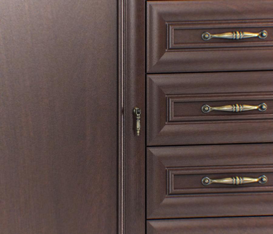 Верди СБ-1451 Комод однодверный с 5-тью ящиками от Столплит
