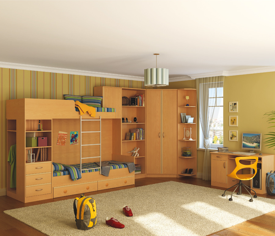 Симба Детская Набор 2Детские комнаты<br><br><br>Длина мм: 0<br>Высота мм: 0<br>Глубина мм: 0