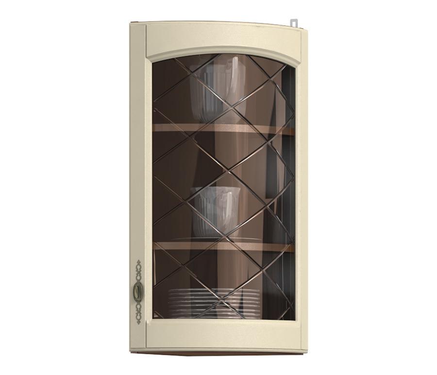 Регина РПТК-30 полка торцевая с гнутой витринойМебель для кухни<br>Торцевая полка с гнутой витриной Регина станет отличным дополнением к вашему кухонному гарнитуру.<br><br>Длина мм: 286<br>Высота мм: 720<br>Глубина мм: 286