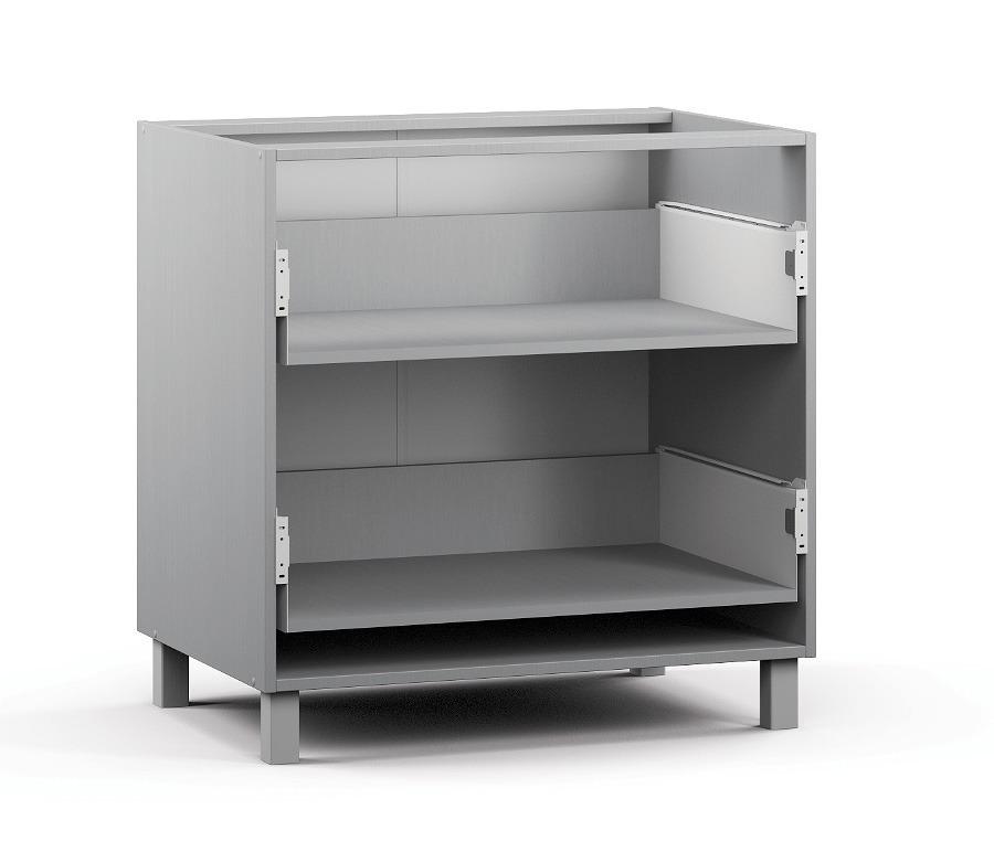 Анна АСЯ-80 Шкаф-Стол с 2-мя ящикамиМебель для кухни<br>Качественный шкаф для кухни с двумя ящиками.<br><br>Длина мм: 800<br>Высота мм: 820<br>Глубина мм: 563