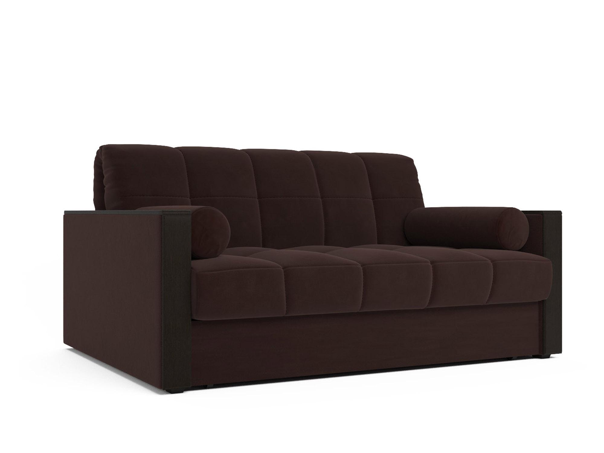 Прямой диван Даллас (коричневый - Luna 092)