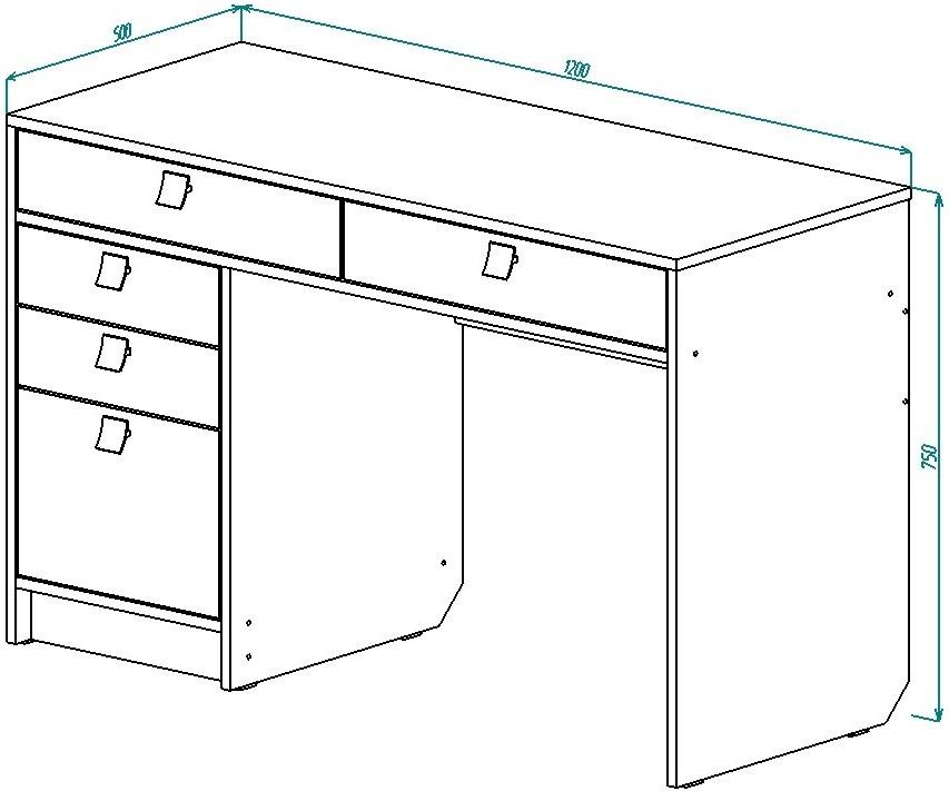 Стол для детской География от Столплит
