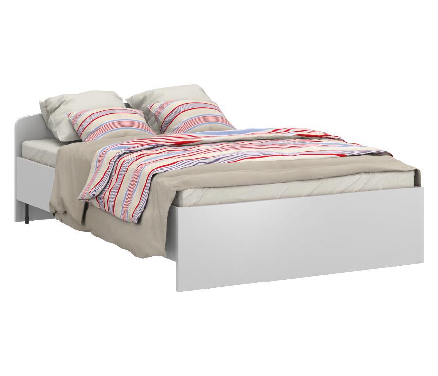 Терра СБ-2359 Кровать универсальная 1200 БелыйКровати<br>Терра СБ-2359 Кровать универсальная 1200 Белый - идеально впишется в современный интерьер спальни, создав гармоничную композицию с остальной обстановкой комнаты. Простой силуэт и беспроигрышный белый цвет кровати подчеркивает достоинства лаконичной модели. Высочайшее качество материалов обеспечивает надежность конструкции. На нашем сайте дополнительно вы можете приобрести ортопедическое основание на ножках 1200*2000 или массив СВ-1200 для данной модели и подобрать качественный матрас. Пусть ваш сон будет здоровым.<br><br>Длина мм: 1260<br>Высота мм: 654<br>Глубина мм: 2055