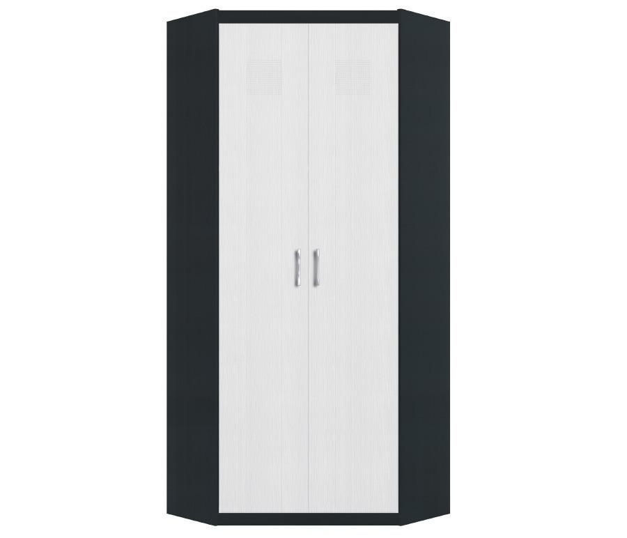 Сити СБ-218 Шкаф угловойГостиная<br>Эргономичный угловой шкаф для хранения одежды. &#13;Ширина бока: 345<br><br>Длина мм: 904<br>Высота мм: 2218<br>Глубина мм: 904