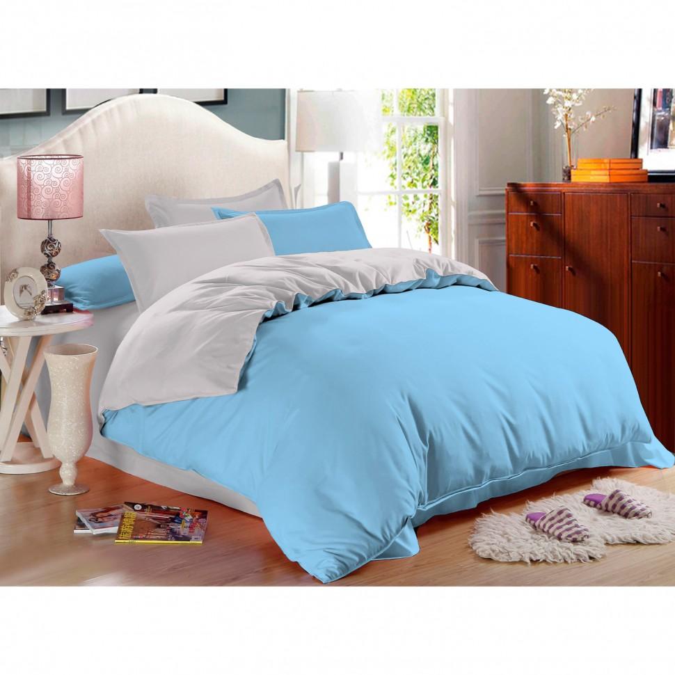 Комплект постельного белья евро Amore Mio Alaska сатин комплект постельного белья двуспальный евро amore mio arthur кофейный