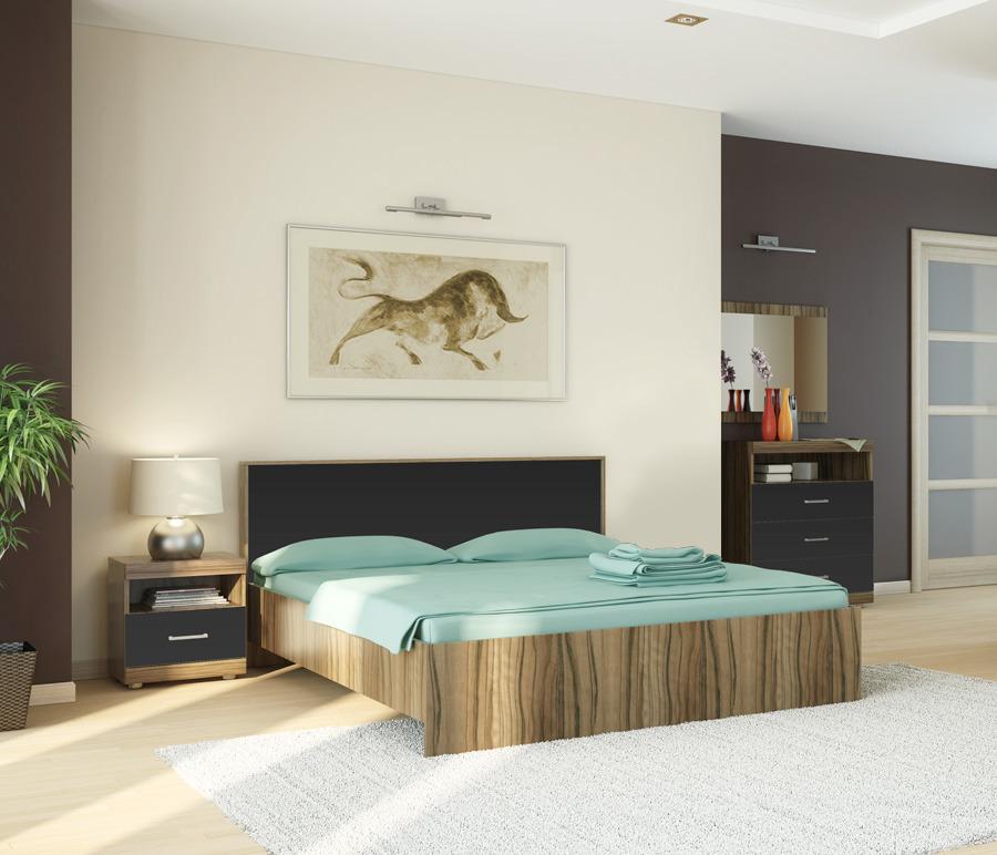 Марсель СпальняМебель для спальни<br>Спальный гарнитур  Марсель  гармонично вписывается в любой интерьер, даже небольших спальных комнат.<br><br>Длина мм: 0<br>Высота мм: 0<br>Глубина мм: 0