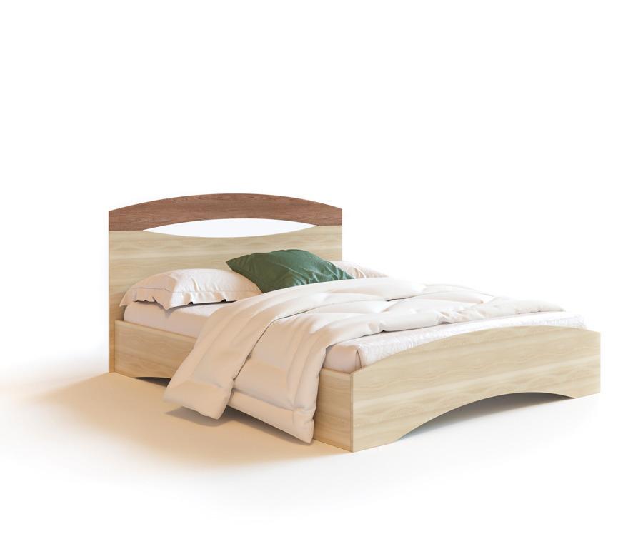 Болеро СВ-434 кровать 1600Кровати<br><br><br>Длина мм: 1700<br>Высота мм: 990<br>Глубина мм: 2040