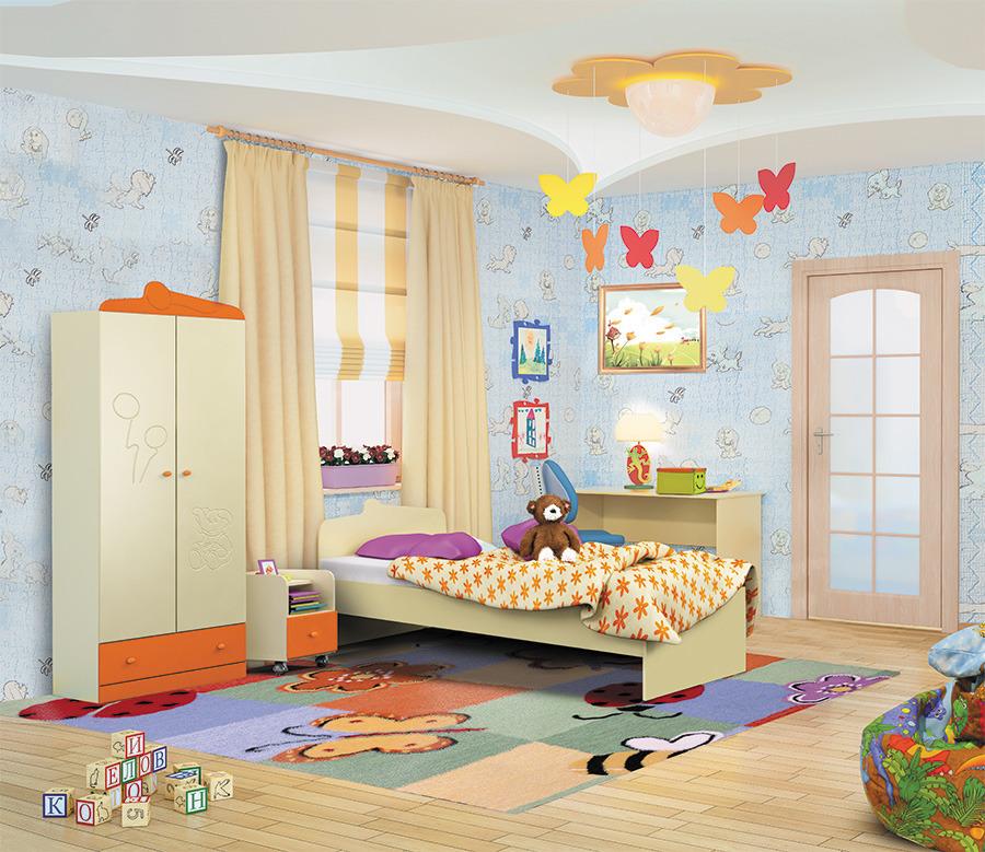 Денди комплект ОранжДетские комнаты<br><br><br>Длина мм: 0<br>Высота мм: 0<br>Глубина мм: 0