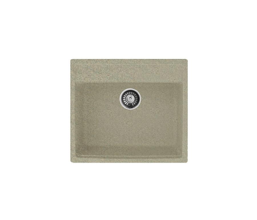 GRANFEST Мойка GF-Q560 (песочный)Мойки, сушки, смесители<br>Дизайн отличается простотой и лаконичностью форм, а простая форма обеспечивает легкость в уборке и поддержании чистоты. &#13;В комплект мойки входят вентиль, сливная арматура и герметик.<br><br>Длина мм: 570<br>Высота мм: 170<br>Глубина мм: 500<br>Мойки: true