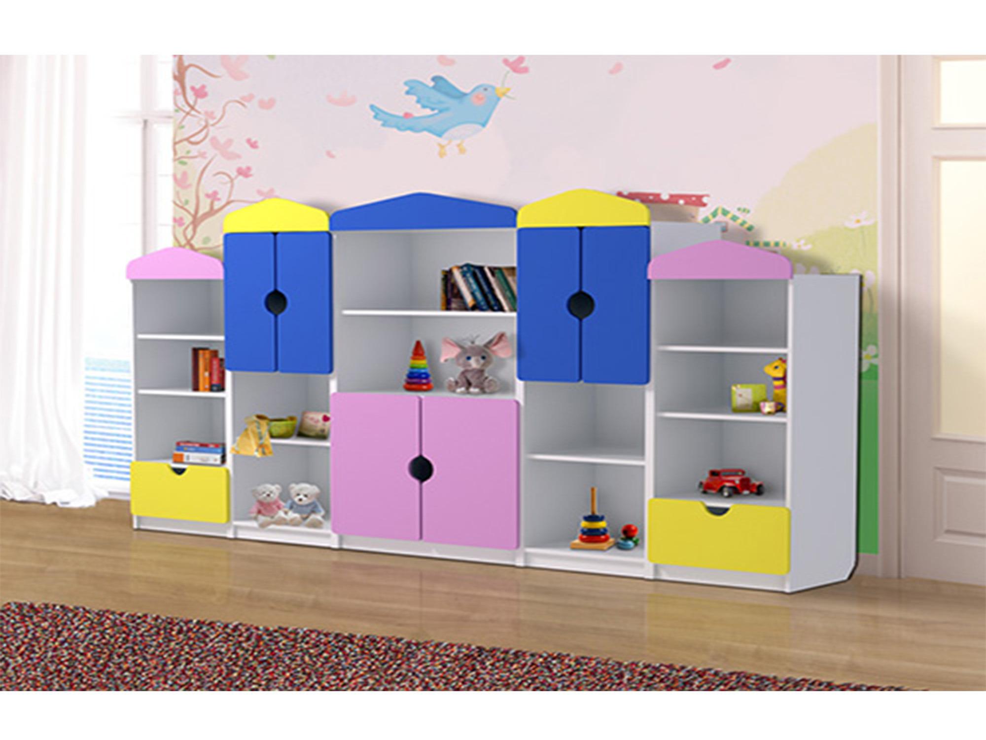 Мебельный блок для игрушекДетские стеллажи и полки<br><br><br>Длина мм: 1510<br>Высота мм: 1100<br>Глубина мм: 420
