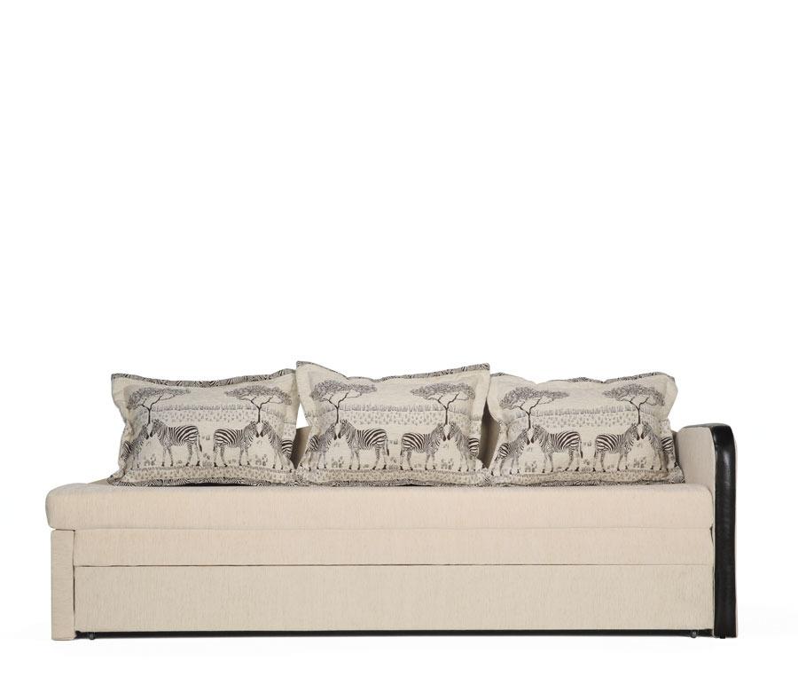 Верди диван-кровать УП Румбо фон 6550 com/Зебра белая/Слон Столплит