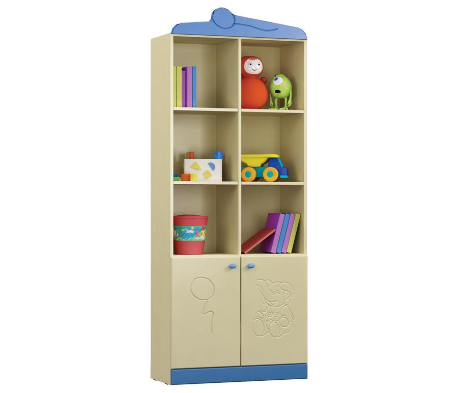 Денди СБ-1408N СтеллажСтеллажи<br>Стеллаж Денди СБ-1408N поможет организовать пространство детской с максимальной функциональностью.<br><br>Длина мм: 780<br>Высота мм: 1840<br>Глубина мм: 330