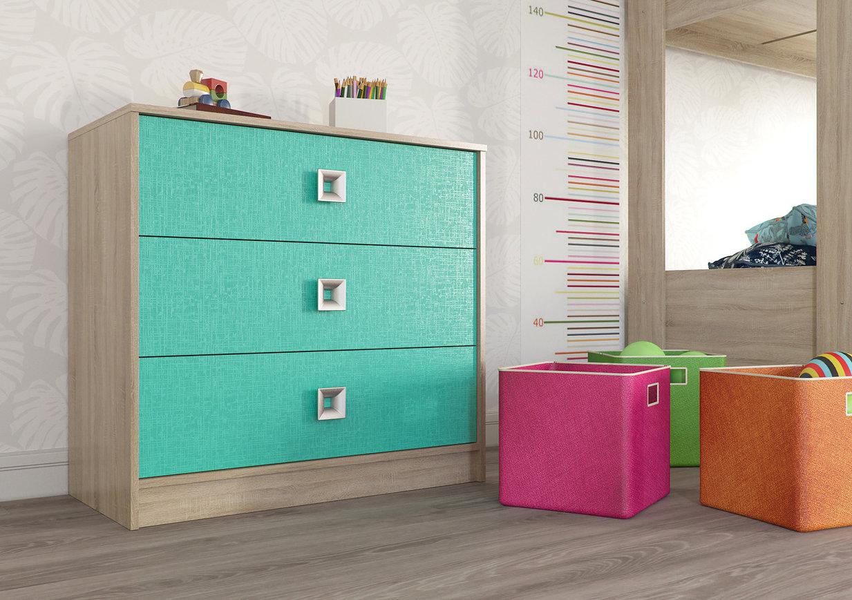 Комод с тремя ящиками СИТИ 4-4421 комод амадео с выдвижными ящиками 3 секции пластик