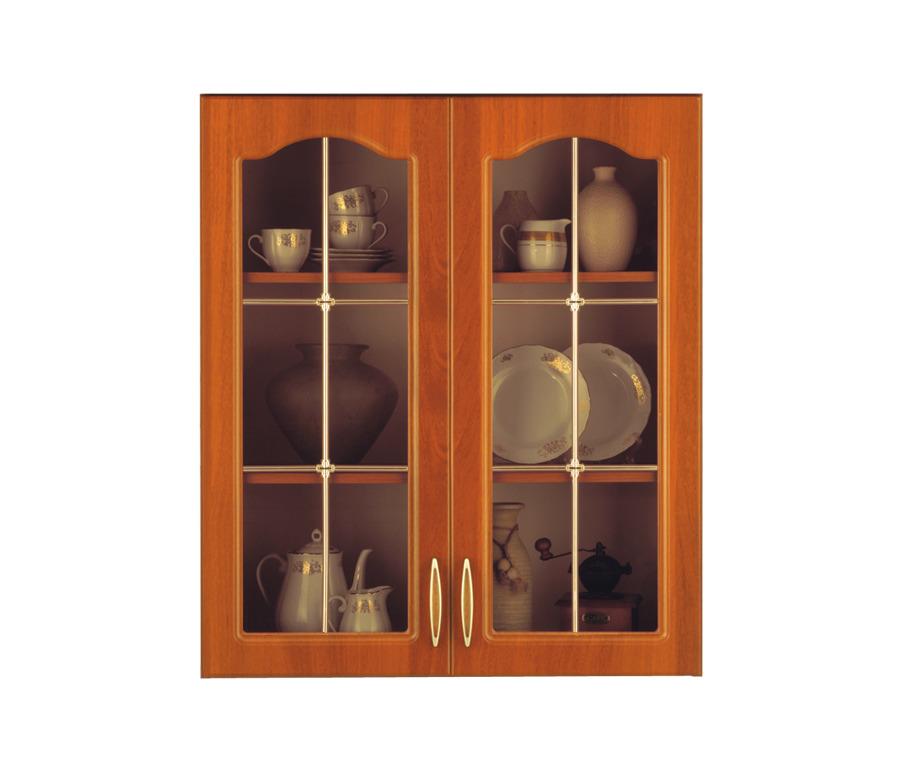 Оля М2 ВитринаВитрины<br>Подвесной шкаф со стеклянными дверцами.<br><br>Длина мм: 800<br>Высота мм: 920<br>Глубина мм: 306