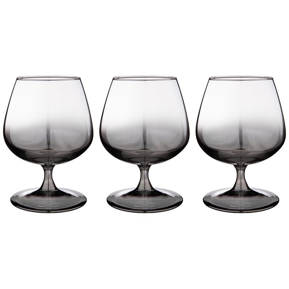 Набор бокалов для бренди Графитовый омбре набор стаканов glasstar графитовый омбре 310 мл 6 шт