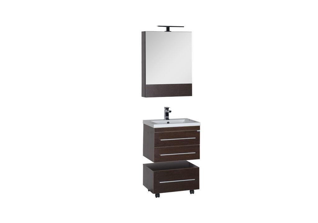 Комплект мебели Aquanet Нота 58 венге (камерино)Комплекты мебели для ванной<br><br><br>Длина мм: 0<br>Высота мм: 0<br>Глубина мм: 0<br>Цвет: Венге