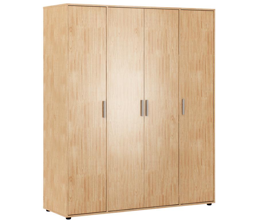 Терра Комфорт СБ-2340 Шкаф 4-х дверный БукWШкафы<br>Шкаф 4-х дверный «Терра Комфорт СБ-2340» – это лучший способ организовать пространство прихожей, создав в ней удобную систему для хранения вещей. В вашем распоряжении окажется три просторных секции, которые включают в себя полки и штанги для вешалок. Верхняя одежда, головные уборы, обувь, аксессуары – в шкафу поместится весь гардероб.Модель «Терра Комфорт СБ-2340» оборудована лаконичными дверцами, легко открывающимися за счет стильных продуманных ручек. Простота силуэта не позволяет шкафу визуально уменьшать комнату, что делает его идеальным вариантом для небольших квартир.<br><br>Длина мм: 1600<br>Высота мм: 1927<br>Глубина мм: 533