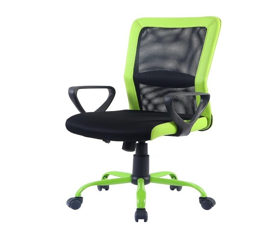 Кресло для персонала HW50237Компьютерные<br><br><br>Длина мм: 480<br>Высота мм: 0<br>Глубина мм: 560<br>Цвет: Салатовый