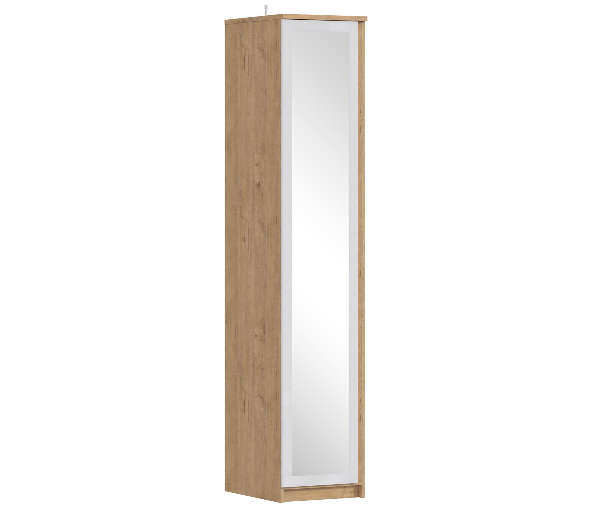 Веста СБ-2260 Шкаф 1-о дверный с зеркалом фото