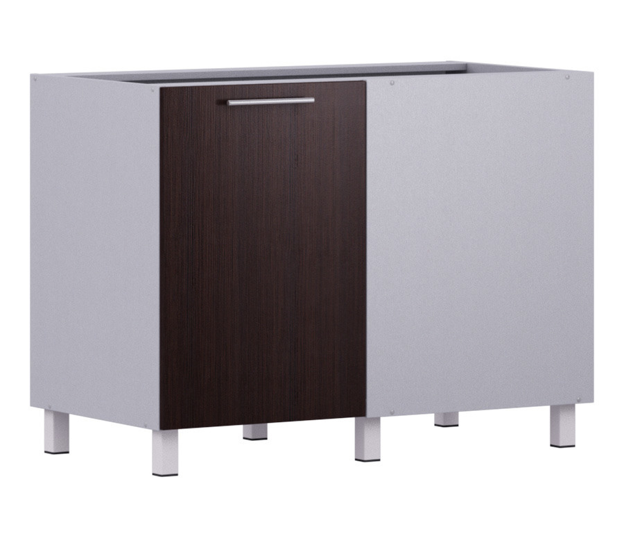 Анна АСП-100 стол приставной(правый, левый)Мебель для кухни<br>Вместительный приставной шкаф позволит вам рационально использовать ваше кухонное пространство. Имеет внутри две секции. Дополнительно рекомендуем приобрести столешницу.<br><br>Длина мм: 1087<br>Высота мм: 820<br>Глубина мм: 563