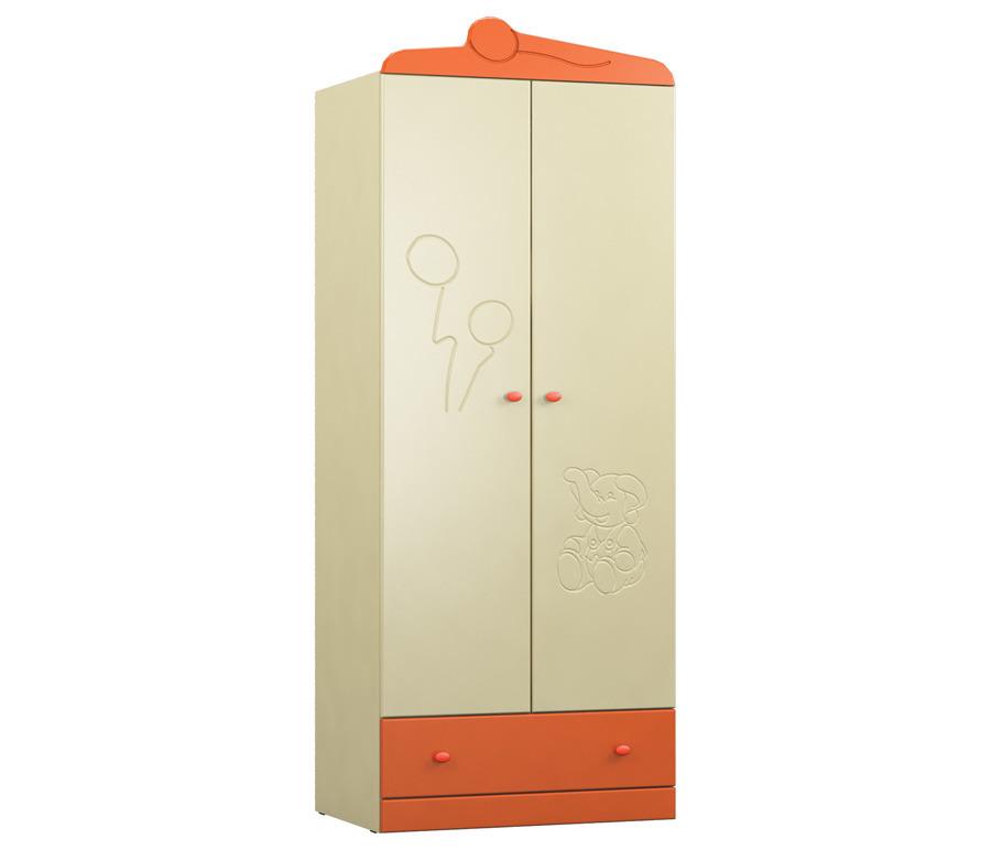 Денди СБ-1406N Шкаф 2-х дверныйШкафы<br><br><br>Длина мм: 780<br>Высота мм: 1988<br>Глубина мм: 523