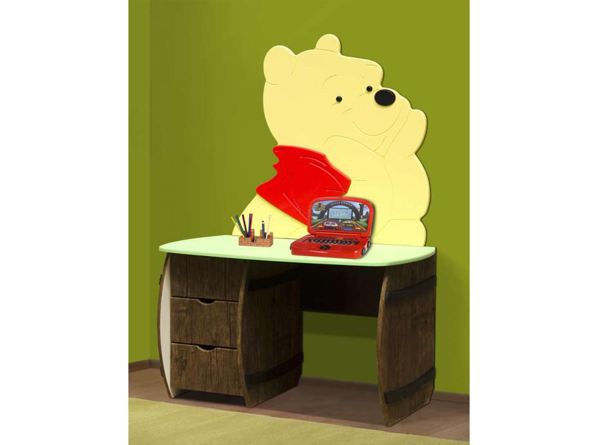 Стол письменный МедвежонокПисьменные столы<br><br><br>Длина мм: 1000<br>Высота мм: 670<br>Глубина мм: 550