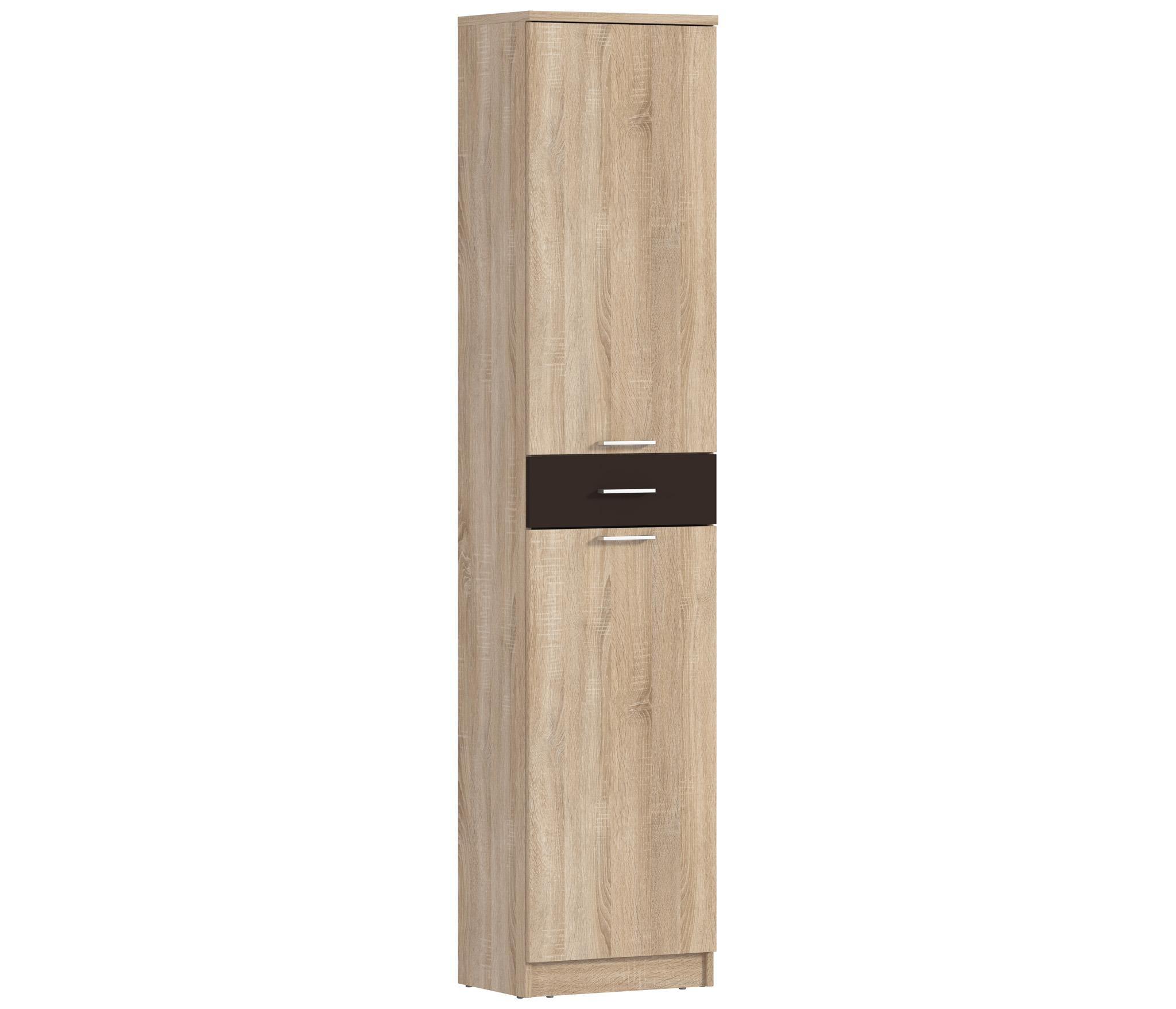 Клео СБ-2023 ПеналШкафы для гостиной<br>Пенал  Клео СБ-2023  станет эффектным дополнением для вашей гостиной.