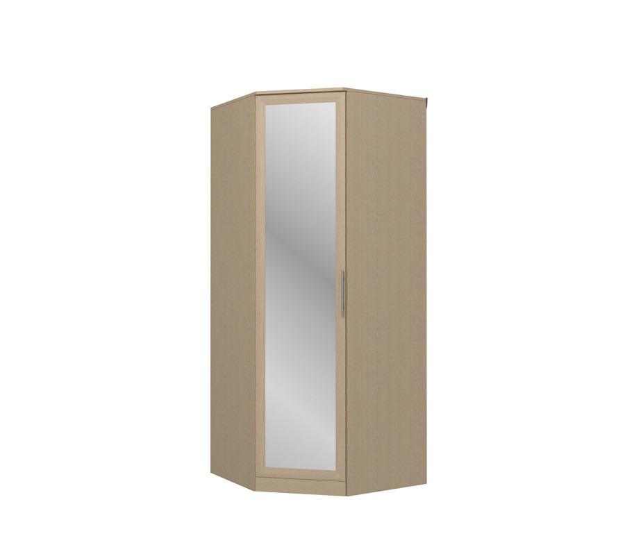 Юлианна СБ.Н-101-01М Шкаф угловой с зеркаломУгловые шкафы<br><br><br>Длина мм: 927<br>Высота мм: 2235<br>Глубина мм: 927<br>Цвет: Венге светлый