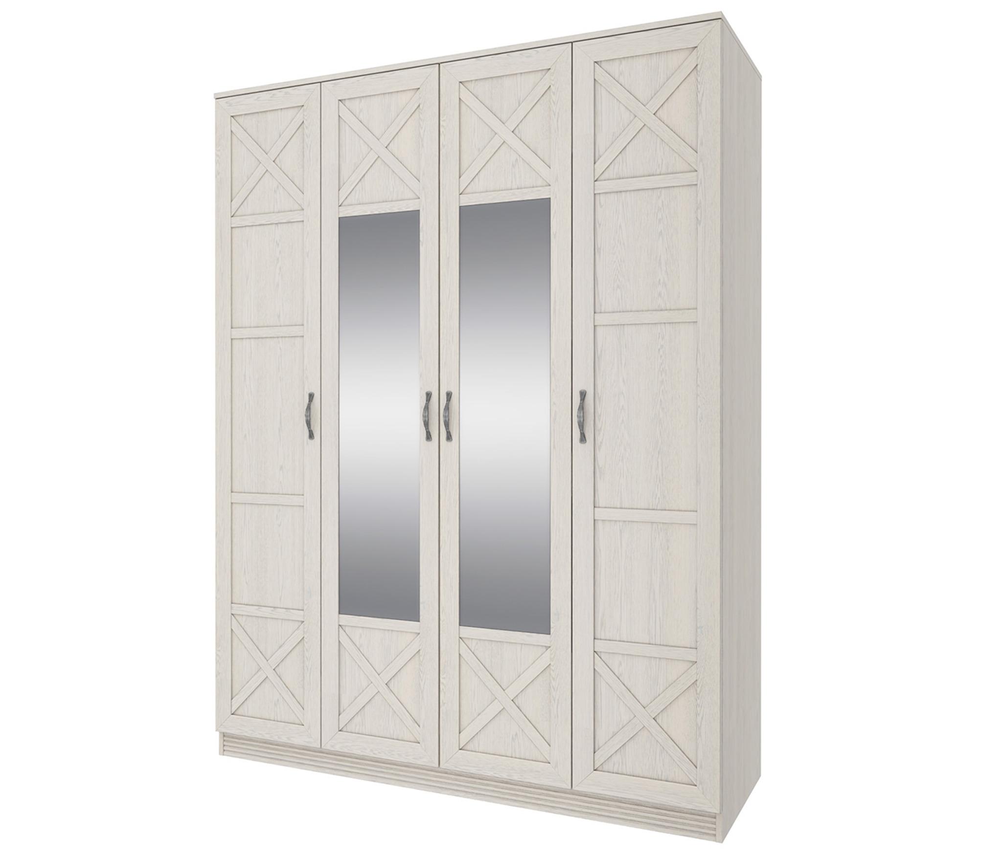 Лозанна СТЛ.223.01 Шкаф 4 дверный с зеркаломШкафы<br><br><br>Длина мм: 1600<br>Высота мм: 2130<br>Глубина мм: 590
