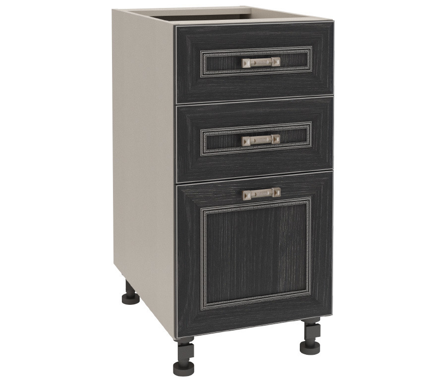 Регина РСЯ-40 столГарнитуры<br>Практичный стол для кухни с тремя выдвижными ящиками разных размеров. &#13;Дополнительно рекомендуем приобрести столешницу.<br><br>Длина мм: 400<br>Высота мм: 820<br>Глубина мм: 563